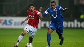 Twente-AZ Alkmaar: Opostos em confronto