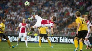 Roda-Ajax: Homens de Amesterdão tentam evitar surpresa
