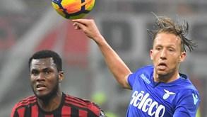 Lazio-Milan: Quem passa ao jogo decisivo?