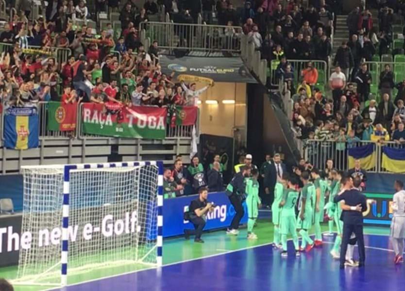 Portugal vence Rússia e está na final do Europeu - Europeu de futsal 2018 -  Jornal Record f0338716e3b4e