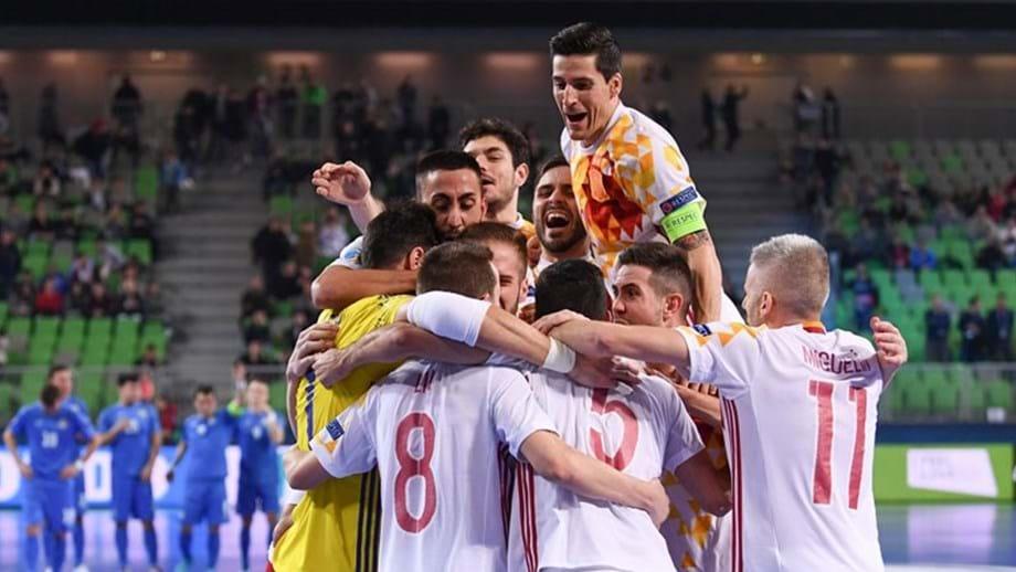 5d27d7f0f1 Espanha marca encontro com Portugal na final - Europeu de futsal ...
