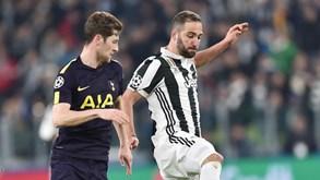 Tottenham-Juventus: O espetáculo continua