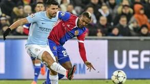 Manchester City-Basileia: Citizens querem gerir resultado