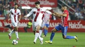 Huesca-Sp. Gijón: Líder em busca do regresso às vitórias