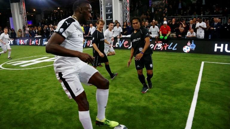 Usain Bolt treina com o Borussia Dortmund esta sexta-feira bf683777b7a84
