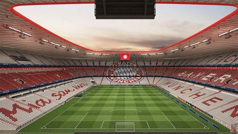 Bayern Munique vai 'pintar' estádio de vermelho e branco