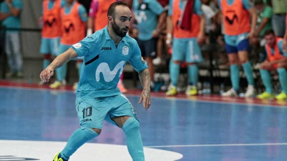 87eb35b046 Cecílio Rodríguez morreu este sábado durante um jogo do Inter Movistar para  o campeonato .