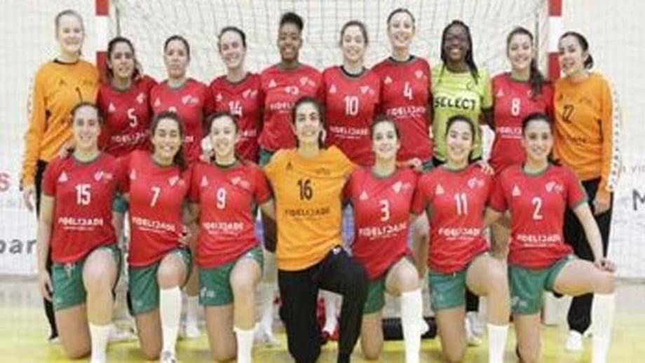 Sub-20  Seleção feminina bate Espanha - Andebol - Jornal Record 9350b00a4c2d3