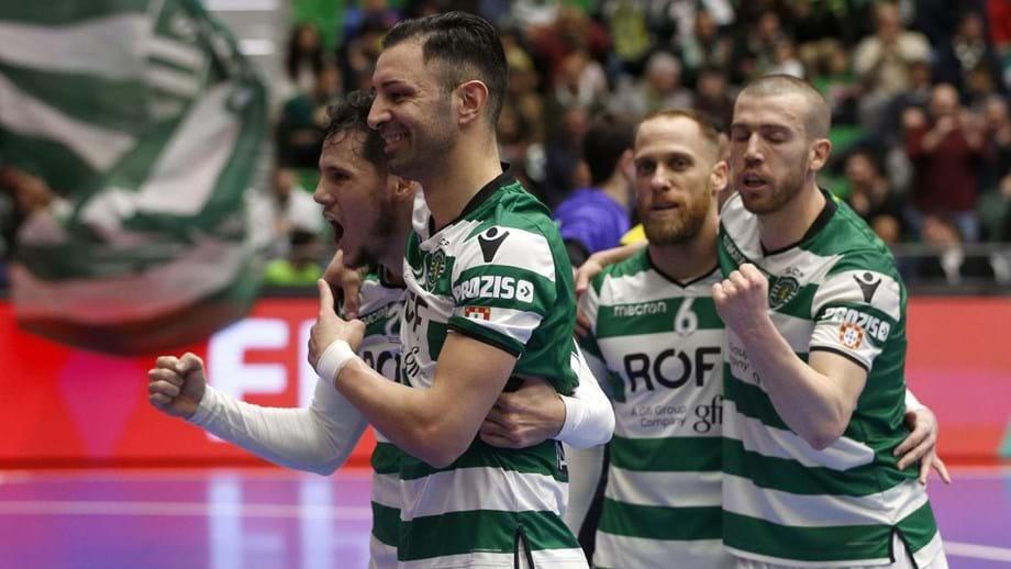 Sporting na final-8 da Taça de Portugal - Futsal - Jornal Record 741ba9385c704
