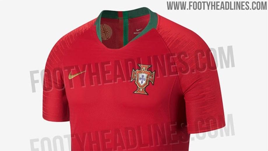 Será esta a camisola de Portugal no Mundial 2018  - Fotogalerias ... abd098451970e