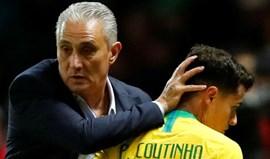 Brasil anuncia particular com a Croácia