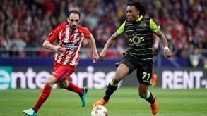 Sporting-At. Madrid: Leão com desvantagem para reverter