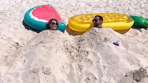 Rio Ferdinand vive férias de luxo