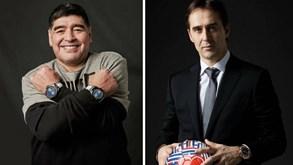 Maradona e Lopetegui unidos pela publicidade