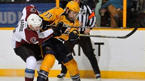 Nashville Predators-Colorado Avalanche: Primeiro jogo da série no playoff