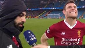 Não foi fácil, mas Milner ouviu resposta desconcertante de Salah sem se rir