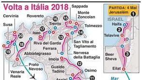 Giro'2018 vai fazer história no ciclismo