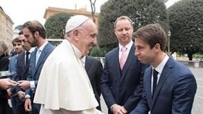 António Felix da Costa recebeu benção do Papa Francisco