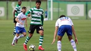 Sporting B-Famalicão, 1-1: leões vão em 11 jogos seguidos sem vencer