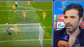 As declarações arrasadoras de Buffon: «Árbitro tinha caixote do lixo no lugar do coração»