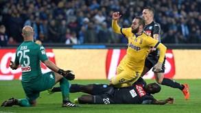 Juventus-Nápoles: O título passa por aqui