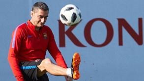 Valverde com o lugar em risco no Barcelona
