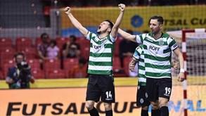 Sporting abre portas do pavilhão João Rocha para ver final da UEFA Futsal Cup