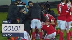Cabeça de Salvio deu a vitória ao Benfica na compensação