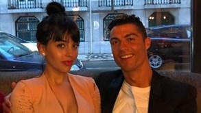Ronaldo e Georgina namoram em Lisboa