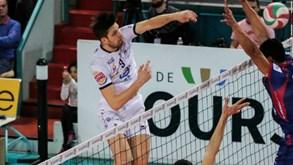 GFC Ajaccio-Tours VB: Jogam-se as 'meias' da liga francesa de voleibol