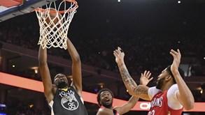 Golden State Warriors-New Orleans Pelicans: Arrancam as 'meias' da Conferência Oeste