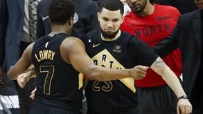 Toronto Raptors-Cleveland Cavaliers: Arrancam os 'quartos'