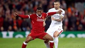 Roma-Liverpool: Novo espetáculo à vista
