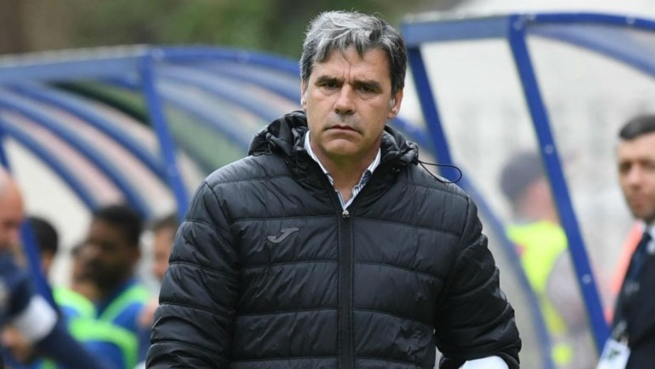 Miguel Leal, treinador do Arouca