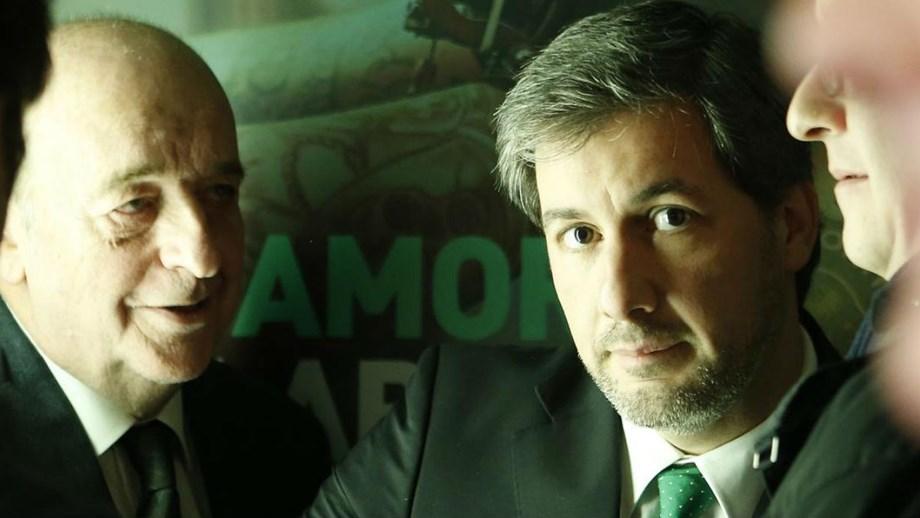 Daniel Sampaio com Bruno de Carvalho