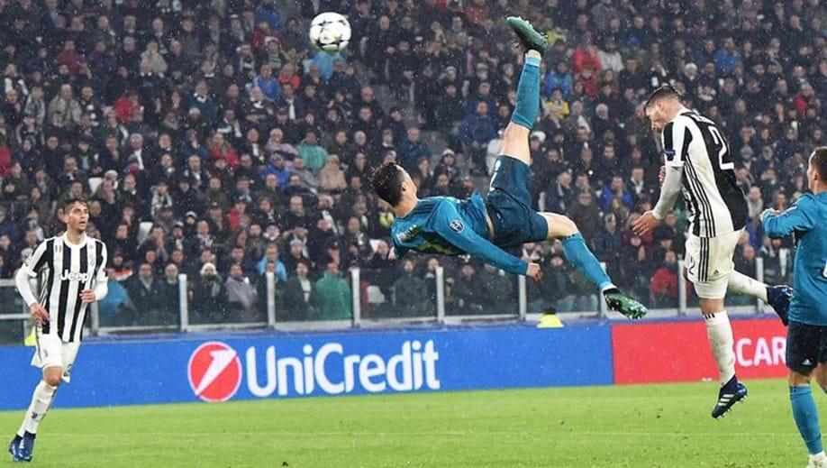 67d75c05ace1e Quanto subiu Cristiano Ronaldo para marcar o golo de bicicleta  Uma  barbaridade .