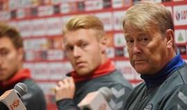 Três estreias na lista de pré-convocados da Dinamarca