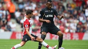 Swansea City-Southampton: Duelo pela salvação
