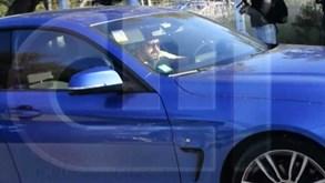 O momento em que os cabecilhas do ataque à Academia escapam num BMW