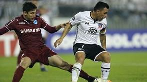 At. Nacional-Colo Colo: Apuramento em jogo