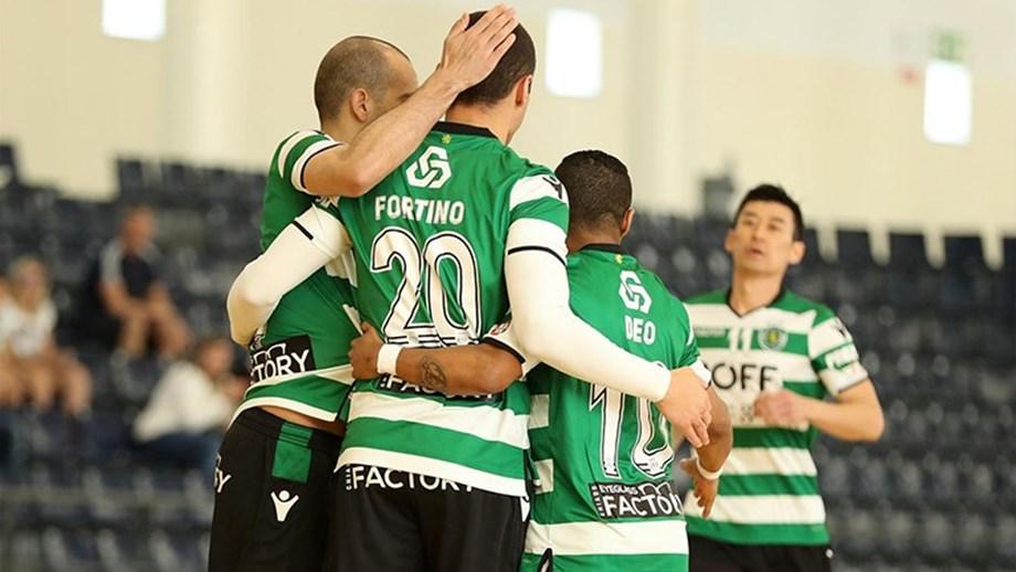 c5a579f9d9 Sporting goleia Rio Ave e termina fase regular invicto - Futsal ...
