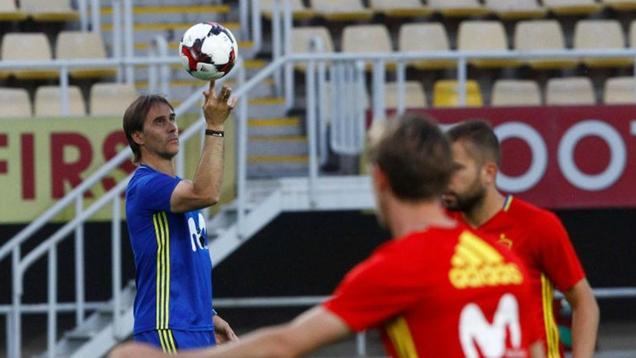 f2b0bfcb45c82 Espanha começa a preparar o Mundial a 28 de maio - Mundial 2018 ...