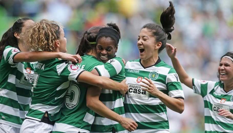 Sporting sagra-se bicampeão nacional de futebol feminino - Futebol ... 1560c5e72cd4b