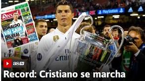 Notícia Record sobre Ronaldo deixa Espanha em ebulição