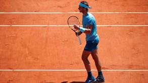 Nadal apura-se para as meias-finais de Roland Garros