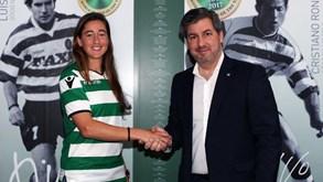 Carolina Mendes reforça Sporting