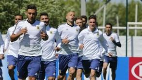 Argentina-Islândia: Messi e companhia em ação