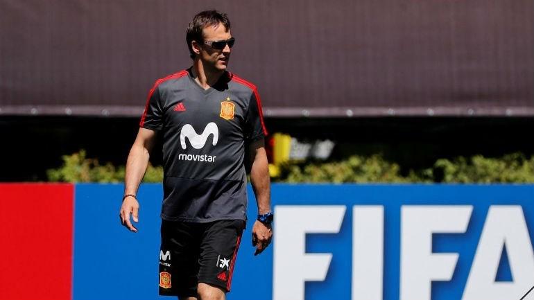 Oficial: Lopetegui deixa seleção espanhola