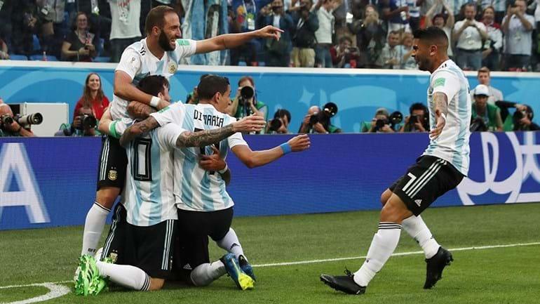 Argentina nos 'oitavos' do Mundial'2018