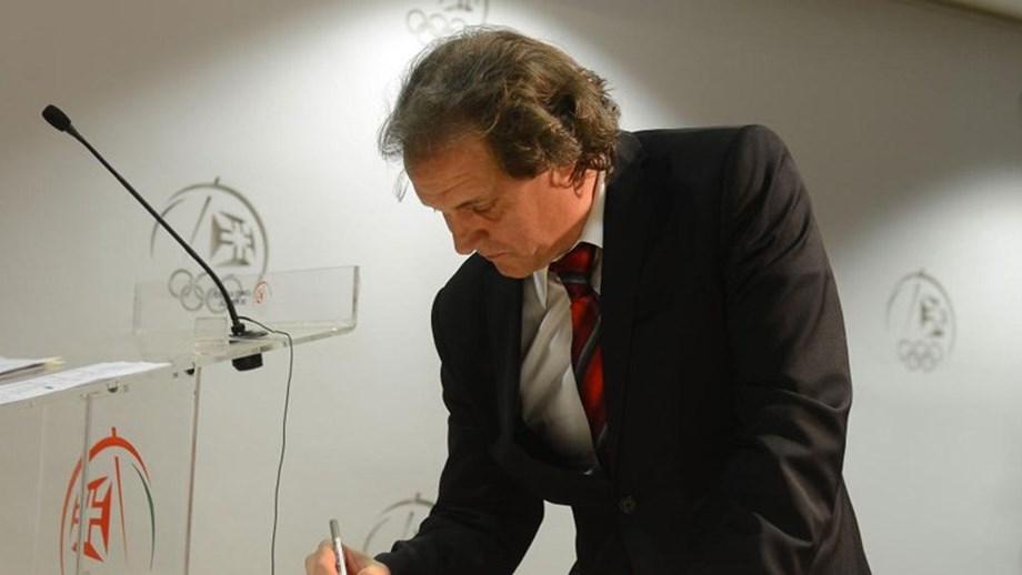 António José Silva, presidente da Federação Portuguesa de Natação